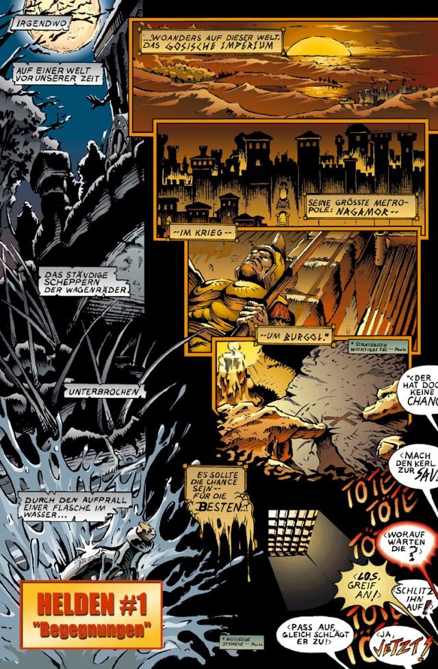 Helden Ausgabe 1 Seite 1