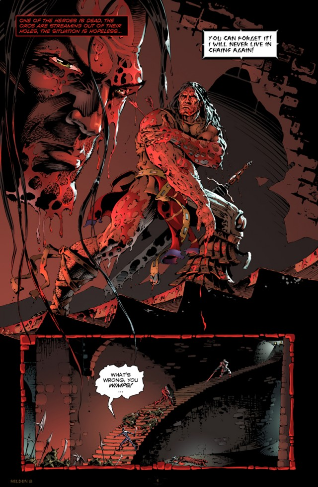 Helden Issue 8 Page 1