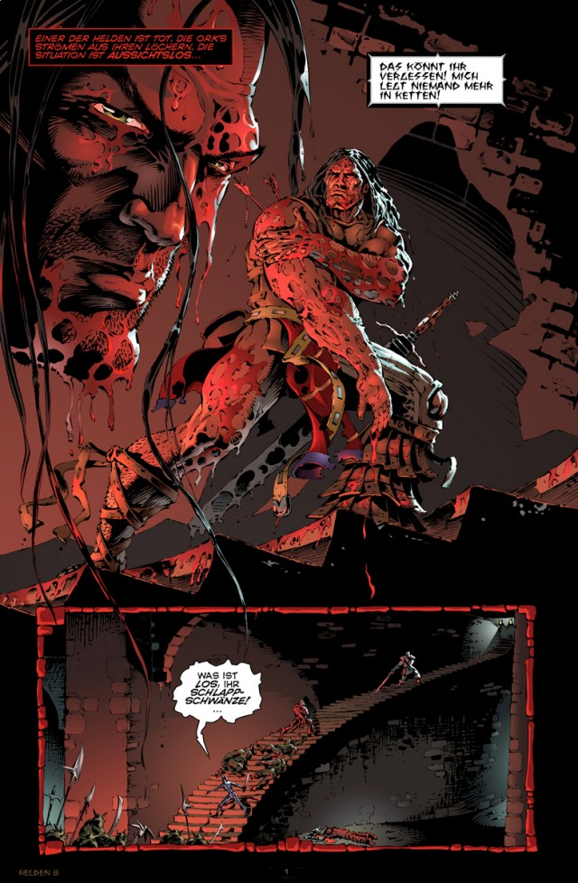 Helden Ausgabe 8 Seite 1
